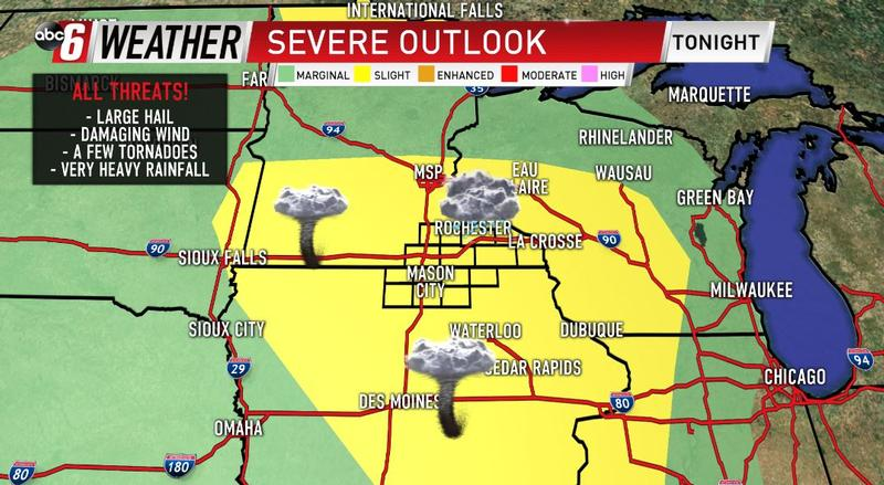 Two Rounds of Severe Weather Wednesday