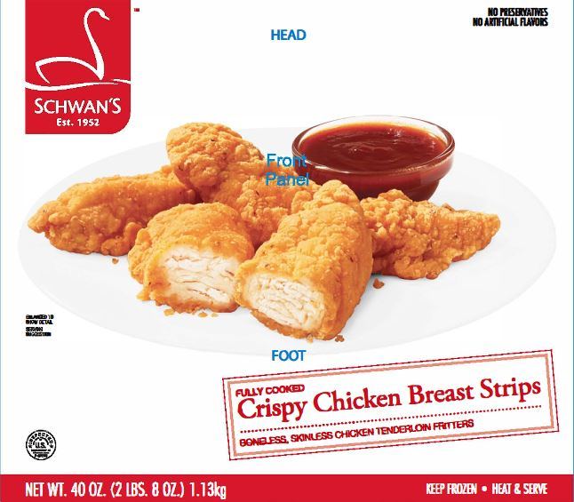 Cooked Chicken Distributed in MN Being Recalled