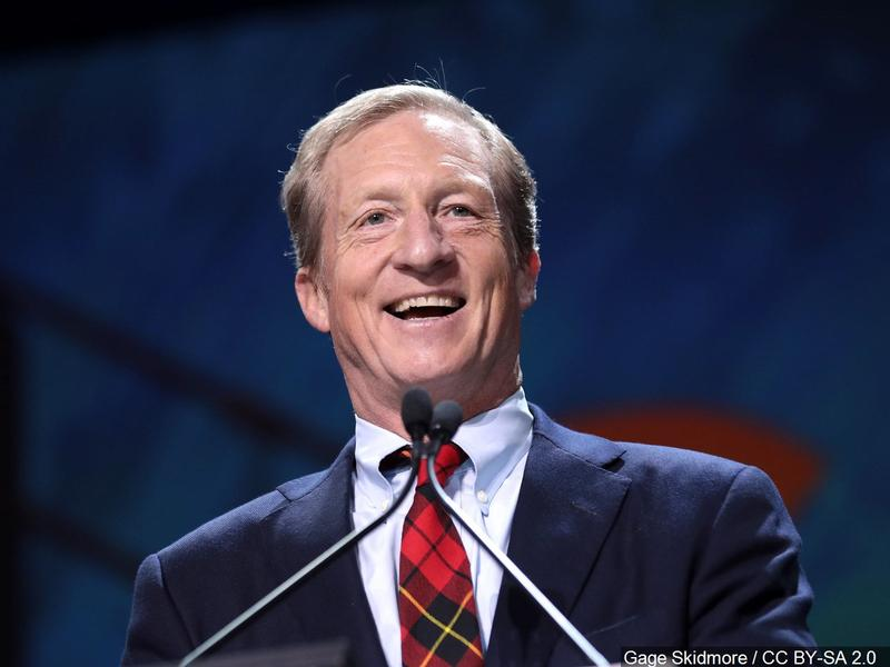 Billionaire Tom Steyer announces presidential run