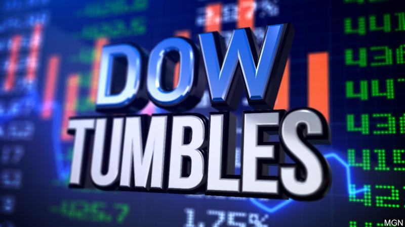 Markets Right Now: Dow drops 800 after bonds flash warning
