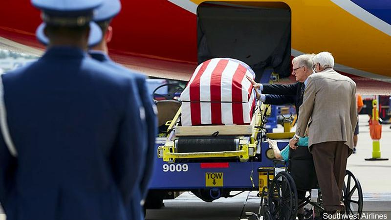 Remains of Vietnam War Pilot Flown Home to Texas by Son
