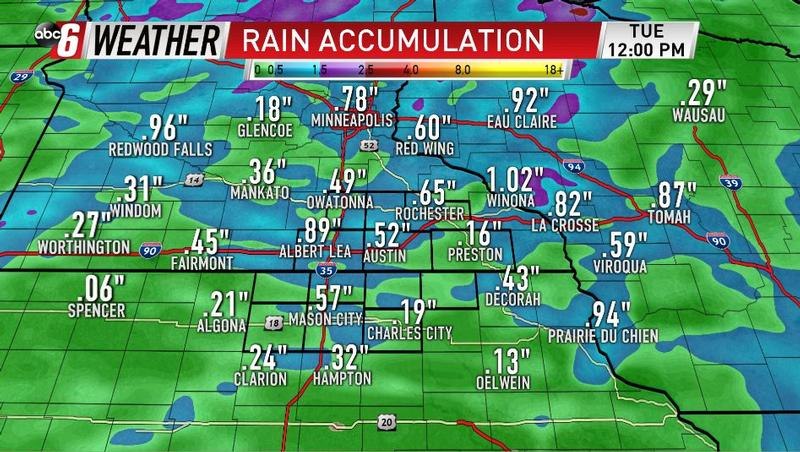Next Round of Rain Arrives Monday