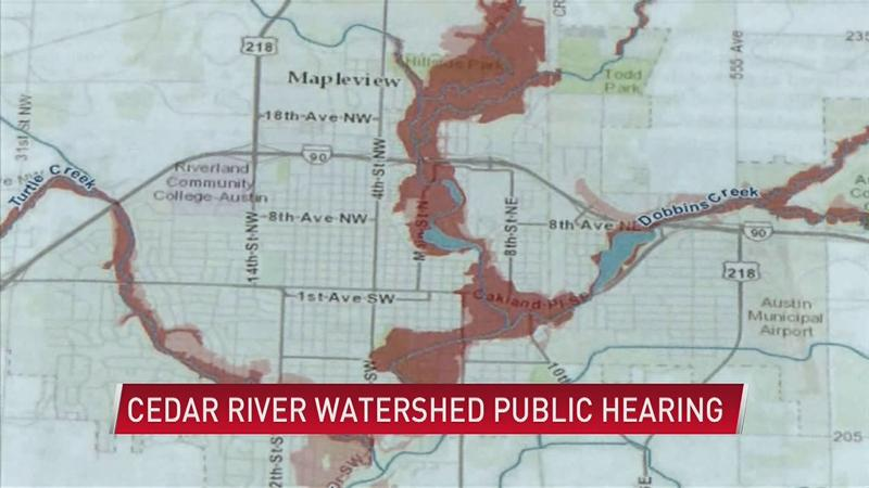 See the Cedar River 1W1P draft plan Tuesday