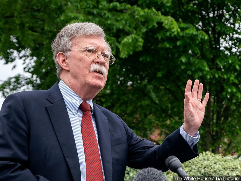 Trump Fires National Security Adviser John Bolton