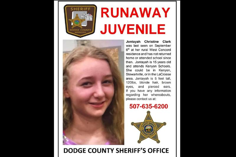 Sheriff: Help Needed in Locating Missing 15-Year-Old Girl