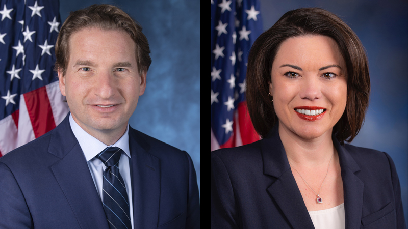 Rep. Dean Phillips and Rep. Angie Craig