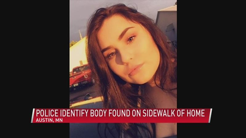Police identify 18 year-old woman found lying dead on sidewalk outside her home