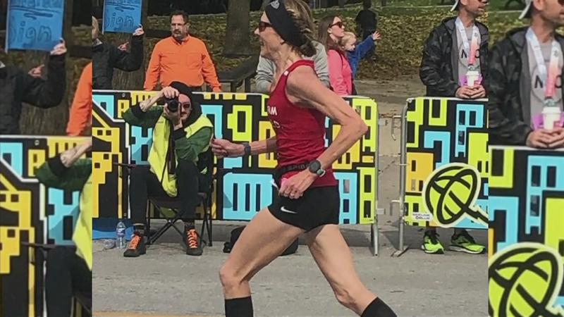 Triumph! Gwen runs 50 marathons, in 50 states, at Boston Marathon speeds