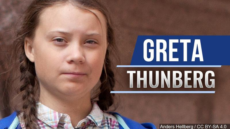 Greta Thunberg Addresses Climate Change in Iowa City<br />