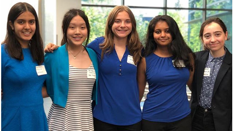 Local high school women win MN Cup award for DiscoverMe app