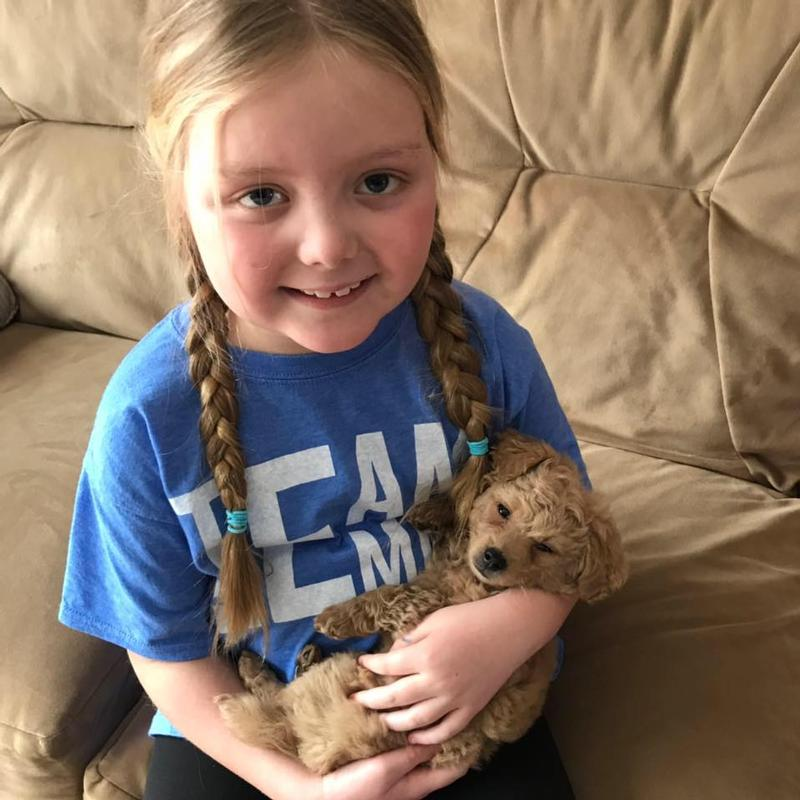 Girl whose love of dogs inspired many has died at age 8