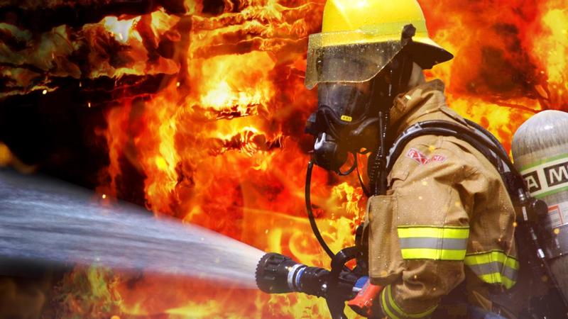 Lodge destroyed by fire in St. Louis County