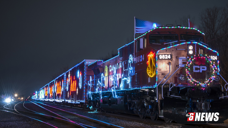 Holiday Train chugs into town today