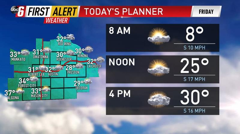 A Frigid Friday Morning, Cool Afternoon