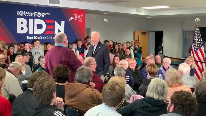 Joe Biden Gets Into Verbal Confrontation During Campaign Event