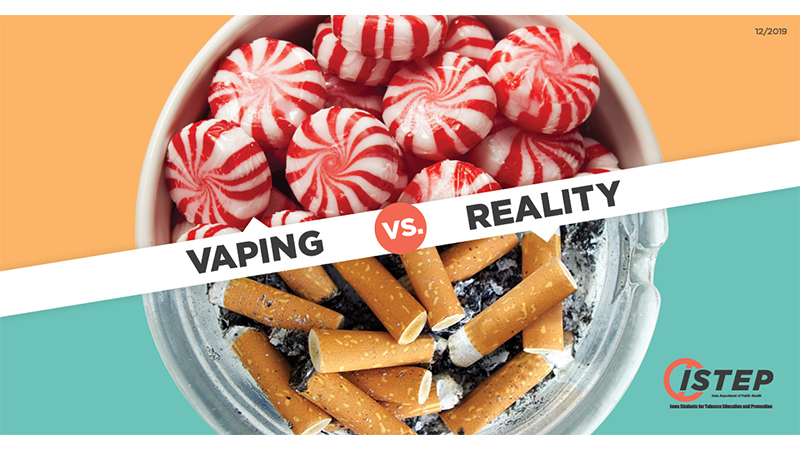 Vaping vs. Reality campaign