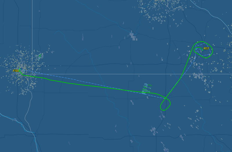 American Airlines flight makes emergency stop at RST
