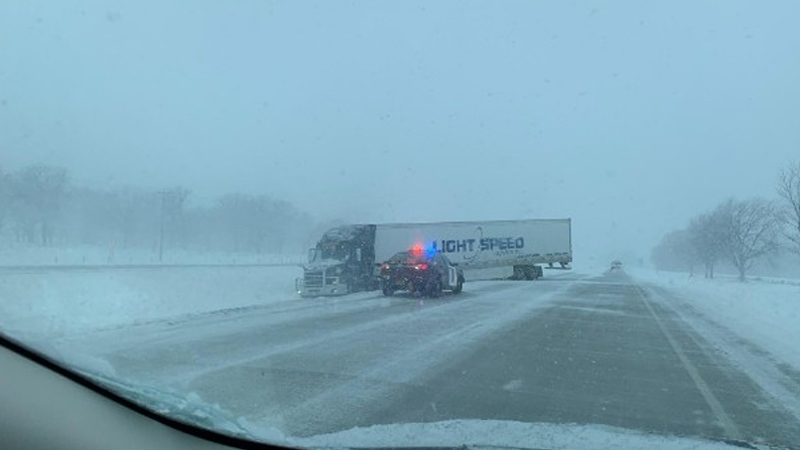 I-90, between Austin and Albert Lea