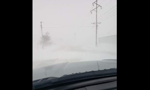 Several north central Iowa counties issue no travel advisory; plows pulled off roads