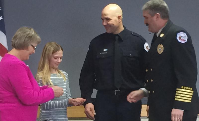 RFD: Two new captains sworn in on Saturday