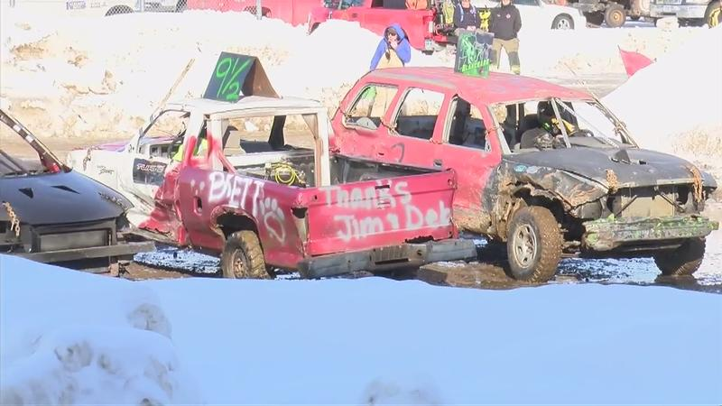 Paint The Town Pink Smashes Cancer With Demolition Derby Kaaltv Com