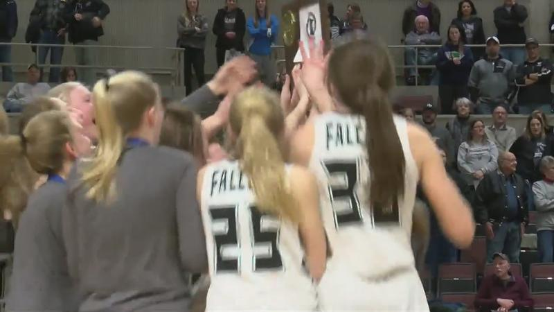 Falcons flying into first state tournament