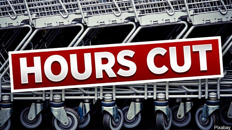List of grocery stores that have cut hours