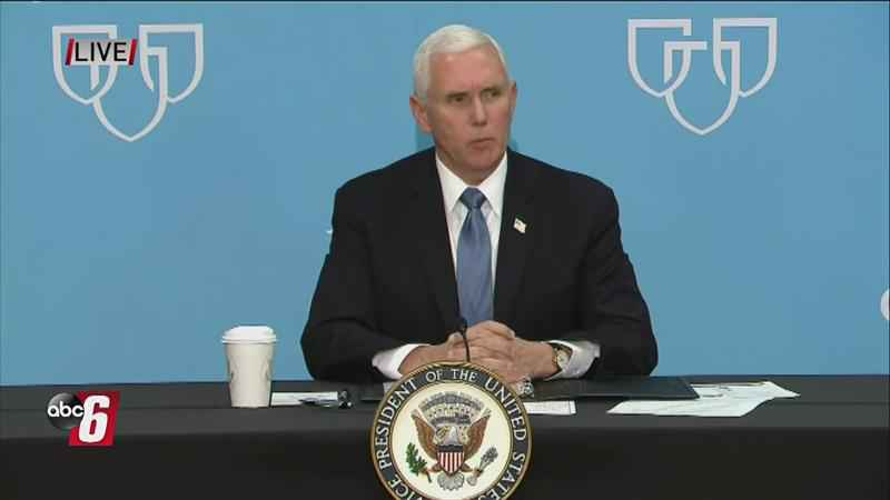 Mike Pence ignores Mayo Clinic's face mask rule during visit