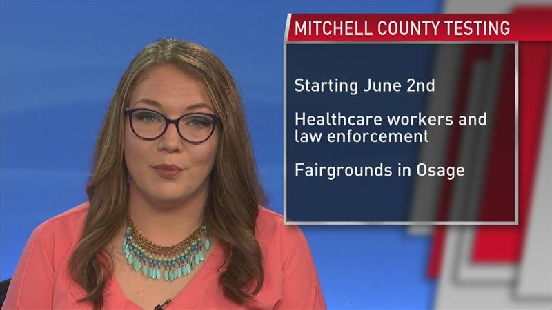 Mitchell County to begin testing all health care workers ...