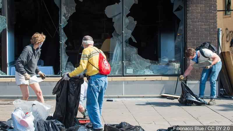 Feds deny Minnesota request for aid to rebuild after unrest