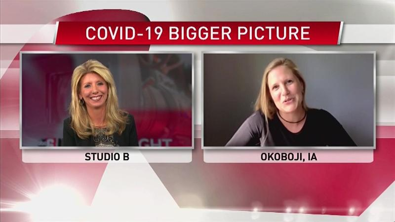 VIDEO: Medical anthropologist talks about a hot spot for COVID-19 in Iowa