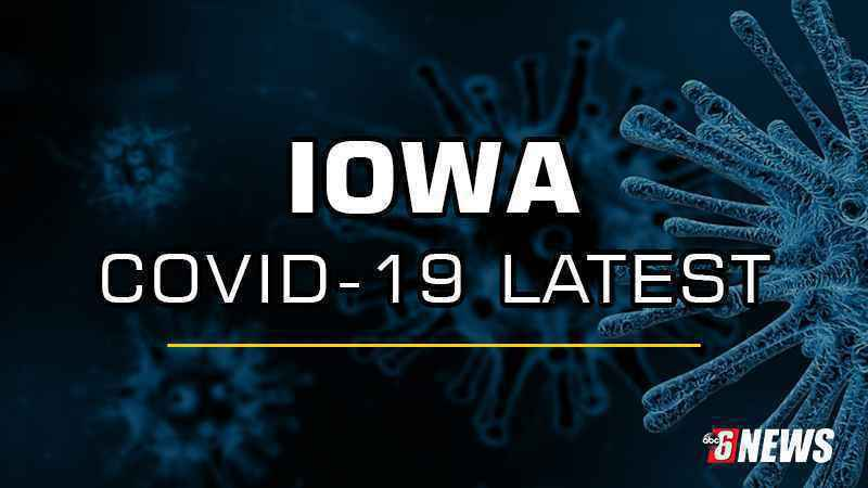 Iowa reports 394 additional cases, 7 new COVID-19 related deaths
