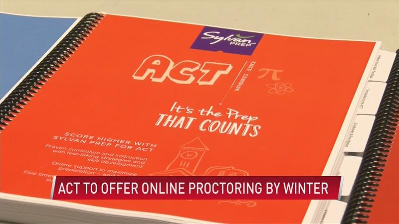 ACT to offer remote proctoring by Winter