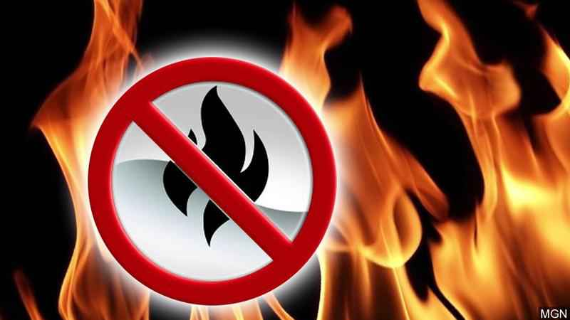 Burn ban issued until further notice in Cerro Gordo County