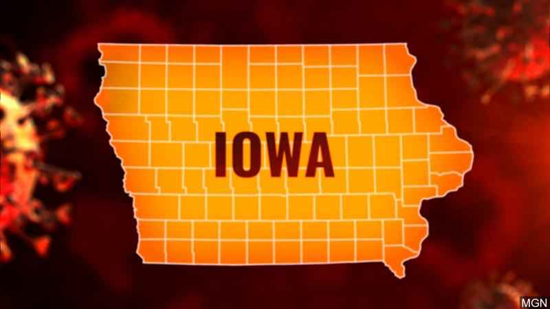 Iowa rate of new coronavirus cases ranks eighth-highest