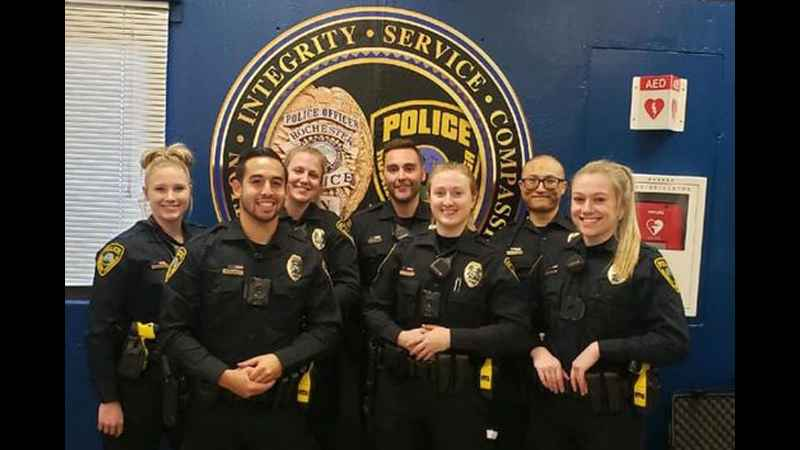 Rochester police swear in 7 officers for POTUS visit