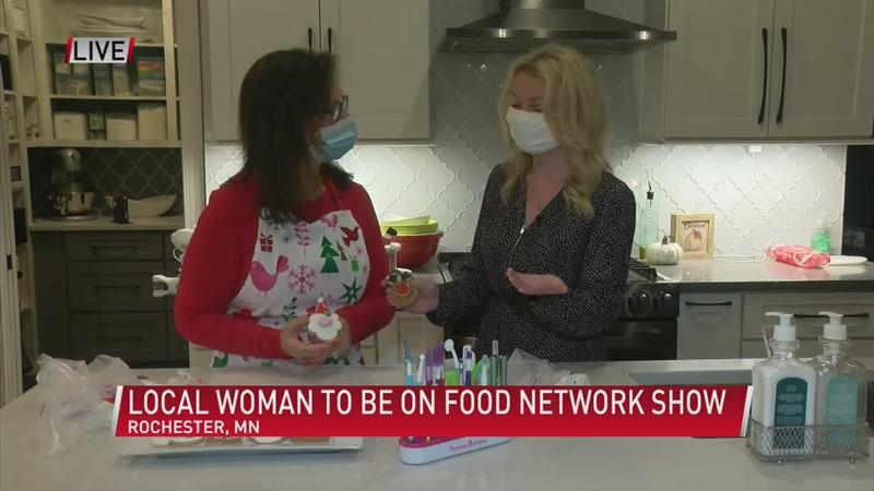 Rochester woman takes on Christmas cookie challenge   KAALTV.com