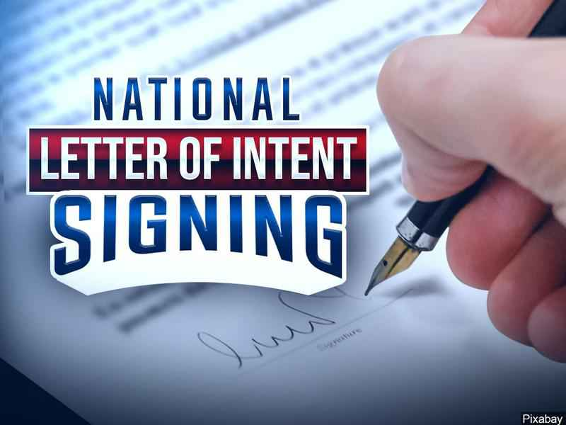 Local athletes sign National Letter of Intent