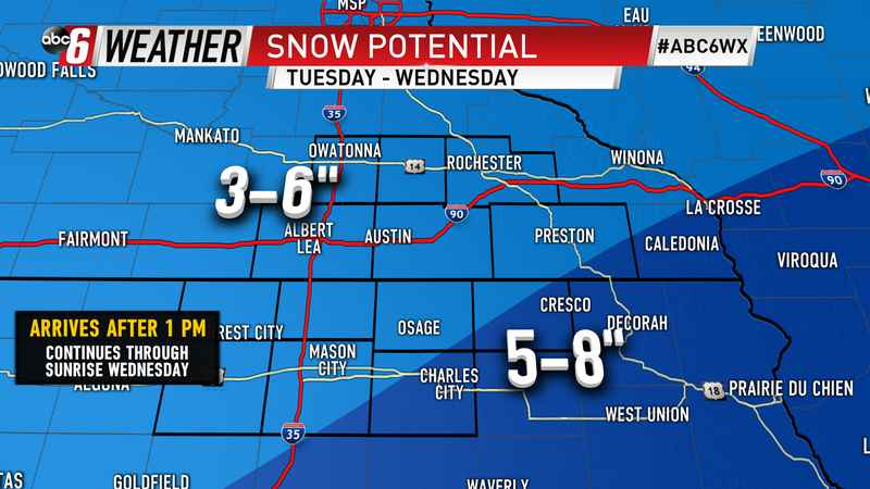 Winter Storm Making Its Way to Central Kansas