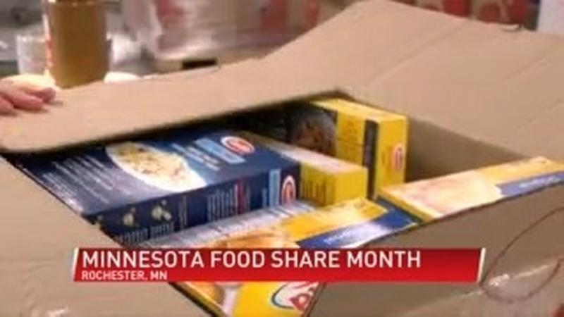 Channel One participates in Minnesota Food share month