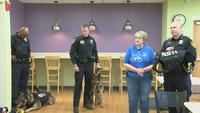 Mother of Fallen Officer Donates Protective K-9 Vests