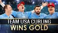 US Men Win Gold in Curling, Silver in Big Air; Canada Gets Hockey Bronze