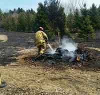 Pine Island Responds to 3rd Grass Fire in 3 Days