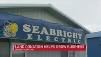 Land Donation Helps Grow Spring Valley Business