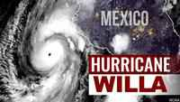 Category 4 Hurricane Willa heads towards Mexico's West Coast