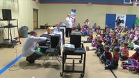 ABC 6 Weather Lab Visits Lyle Elementary