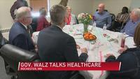 Governor Walz Hears Healthcare Woes in Rochester