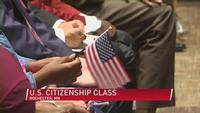 U.S. Citizenship Class Offers Help to People Including A Young Rochester Woman