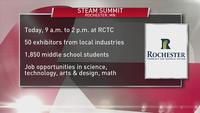 Rochester's 12th annual STEAM summit inspires students