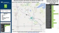 Learn about rabies in animals and view a map of positive cases in Minnesota on the Board�s website.